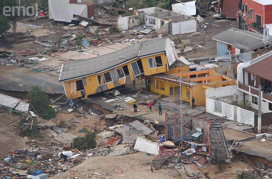 Fotos tsunami chile 2010