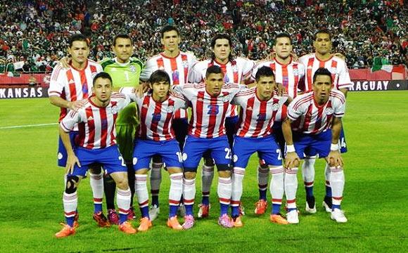 Resultado de imagen de seleccion paraguaya 2017
