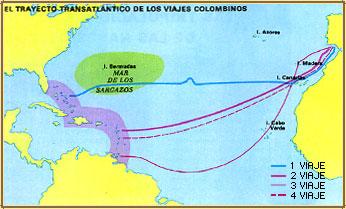 Primer viaje de coln wikipedia la enciclopedia libre for Cuarto viaje de cristobal colon