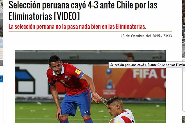 Así Lo Vio El Mundo Los Ritos Fueron Insuficientes Chile