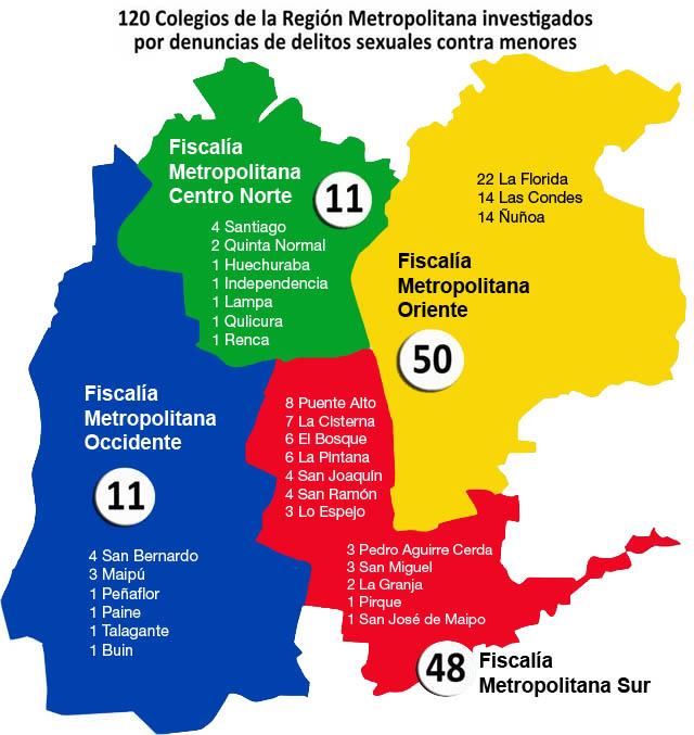 comuna de la region metropolitana: