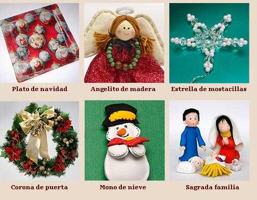 Imagenes De Manualidades De Navidad