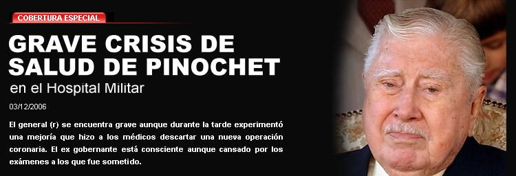 Pinochet grave